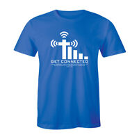 Get Connected John 14:6 T Shirt Bible Blessing Jesus Sunday Church Graphic Tee