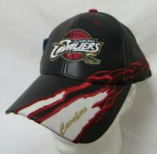 Cleveland Cavaliers Mens Adjustable Leather Baseball Cap Hat E1 711