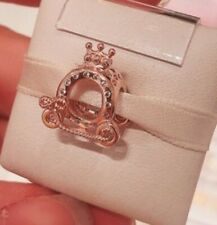 Genuine Rose Gold Crown O Carriage Pandora Charm ALE R Met