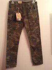 100 Auth Ralph Lauren Ladies Elzey Straight Moro Jeans. 26
