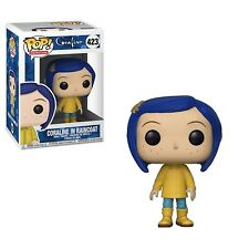 Funko - POP Movies: Coraline: Coraline in Raincoat with Brand New In Box