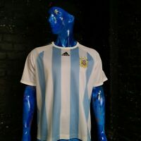 Argentina Jersey Home football shirt 2008-2009 Adidas 069506 Trikot Mens Size XL