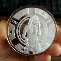 Hot Sexy Cowgirl  / 1 oz .999 Fine Silver Round Bar Bullion Coin  SB1M9