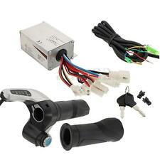 DC 24V 250W Motor Brushed Controller +DC24V Throttle Grip For Electric Scooter