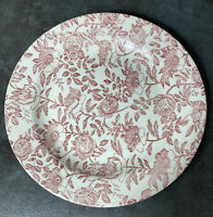 Vintage Churchill Pink Peony Dinner Plates Lot Of 4  Made In England Floral