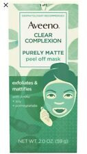 Aveeno Clear Complexion Purely Matte Peel-Off 2 Pomegranate ,1 Berry 2 OZ 3 Pack