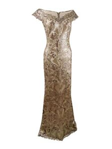 Tadashi Shoji Women's Harford Sequin Gown