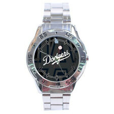 Los Angeles Dodgers MLB Stainless Steel Analogue Men's Watch Gift