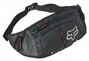 Fox Hip Pack Slim Black - Mountain Bike Waist Bag