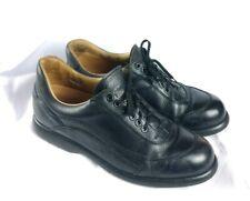 Fratelli Borgioli Sz 43/US 9.5-10.5 Black Leather Italian Fashion Sneakers $549