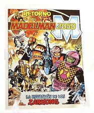 "1988 Exin 3-3/4"" Madelman 2050 'THE ZARKON'S INVASION' Spanish mini-comic Unused"