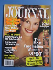 JULIA ROBERTS Ladies Home JOURNAL Magazine January 1998