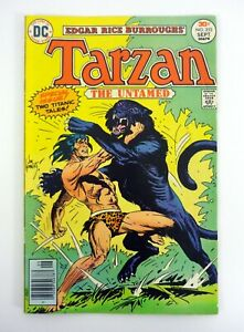 Tarzan #253 DC Comics The Untamed VG 1976