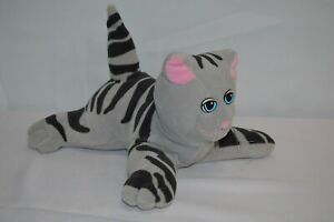 Vintage Pound Purries Gray & White Kitty Cat plush stuffed animal toy 1985