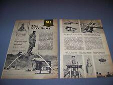 VINTAGE..XV-1, SV-3, XV-3, BEDSTEAD ..HISTORY/PHOTOS/DETAILS...RARE! (740F)