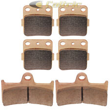 Brake Pads FITS YAMAHA GRIZZLY 660 YFM660 Ducks Unlimited 2006-2007 Front Rear