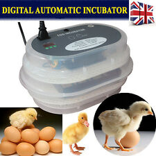 9 Egg Digital Automatic Egg Turning Incubators poultry Chicken Hatcher brooder
