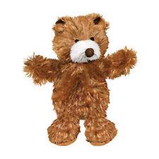 KONG Dr Noys Material TEDDY BEAR Dog Squeaker Toy No Messy Filling Medium (NT2)