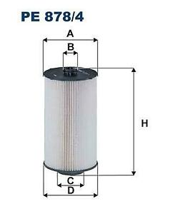 Fuel filter 5801439821 For ASTRA HD 9 (Year of Construction 09.2014 - ...,500 PS