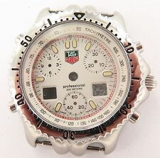 SUPER RARE / MINT / N.O.S. TAG HEUER CG 1111-0 PROFESSIONAL 200M CASE, DIAL ETC