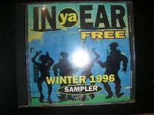 In Ya Ear Winter 1996 Sampler PROMO CD Black GOODIE MOB, MYSTIKAL Tony Rich BMG