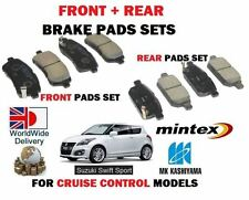 Per SUZUKI SWIFT SPORT 1.6 M16A 2011 - > NUOVO FRONT + REAR DISC Pastiglie Set