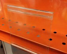 39 Sign Label Holders Clip On For Wire Baskets Fencing Or Gondola Shelf Shelves