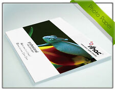 Rihac A4 Premium High Gloss Resin Coated Inkjet Photo Paper 260gsm 20pk