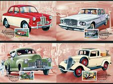1997 Classic Cars Ford Holden Maxi Cards Prepaid Postcard Maxicards Stamps
