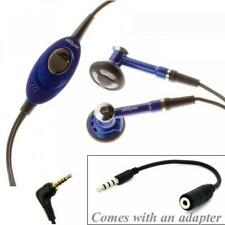 VERIZON WIRED HEADSET HANDSFREE EARPHONES EARBUDS w MIC  For PHONE TABLET iPOD