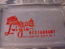 Vintage Luigis Restaurant Atlantic City New Jersey Ashtray