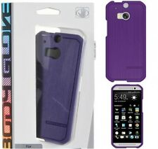 Body Glove HTC One M8 (2014) Satin Case Cover Purple, 9406101