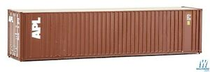 HO APL 40' HC Corrugated Side Container - Walthers SceneMaster #949-8213 vmf121