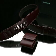 Gariz Brown Leather Neck Strap XS-DSLBR Sony NEX Olympus Fuji Canon Lumix Leica