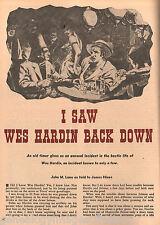 Wes Hardin - Texas Worst Gunslinger Poker Hand