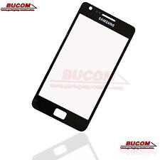 Für Samsung Galaxy S2 SII Vetro Pannello Frontale vetro Vetro Display nero