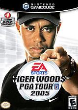Tiger Woods PGA Tour 2005 (Nintendo GameCube, 2004) -Complete