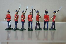 Kopie Modelle Patrick Campbell Britains British Line Infantry On Parade Mv
