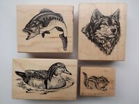 Wood Rubber Stamp PSX Embossing Arts Company D.O.T.S. You Choose