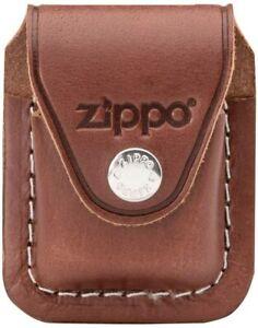 Zippo Feuerzeug Etui Leder Tasche Gürtel braun mit Clip Feuerzeug - 60001218