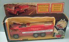 VINTAGE 1974 Corgi Major Toys 1103 Chubb Pathfinder Airport Crash Truck 9 inches