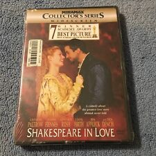Shakespeare in Love (Dvd, 1999, Collectors Series, Widescreen) Brand New Sealed