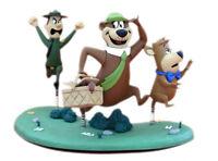 "McFarlane Toys 6"" Hanna Barbera Series 2 Yogi Bear with Boo Boo & Ranger Smith"