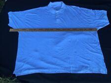 Greystone Polo Shirt Mens 10XL Big Tall Solid White Cotton Short Sleeves