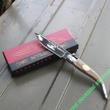 NAVAJA SEVILLANA ASTA TORO HORN BULL  KNIFE MESSER HOJA 10 CMS 01031 M