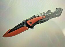 Se Kc-B9013Rr Drop Point Folding Knife with Bottle Opener and Window Breaker new