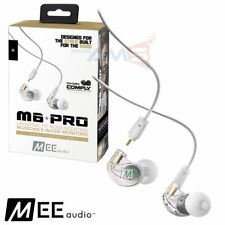 Mee Audio M6 Pro 2nd Generation Noise Isolating Musician's In-Ear Monitor Clear