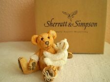 Sherratt & Simpson : Resin Teddy Bear : Bear With Rope on Foot (57132)