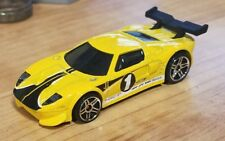 Hot Wheels Ford GT LM yellow #1 black stripes loose