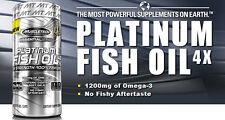 MuscleTech Platinum 100% Fish Oil, 100 Soft Gel Caps (Powerful Product )
